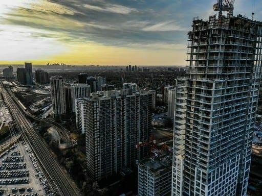 construction aerial photography toronto